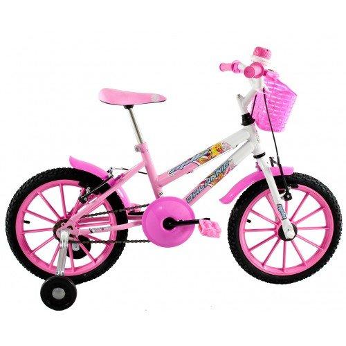 Bicicleta Aro 16 Dalannio Bike Milla Infantil Feminina Rosa