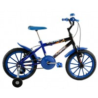 Bicicleta Aro 16 Dalannio Bike Kids Infantil Masculina Azul