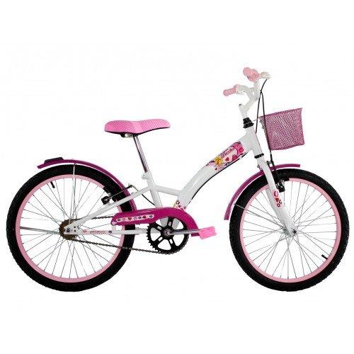 Bicicleta Aro 20 Dalannio Bike Fashion Feminina Rosa