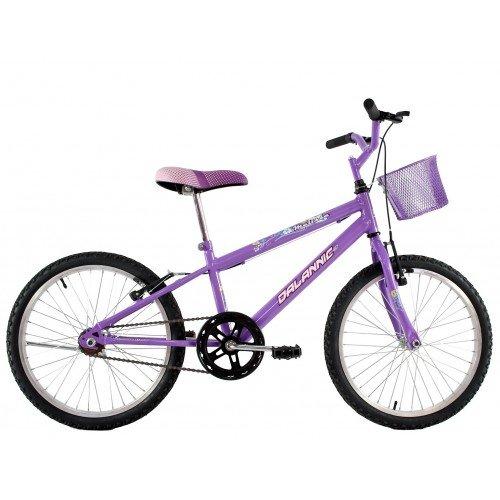 Bicicleta Aro 20 Dalannio Bike Melissa Feminina Lilas