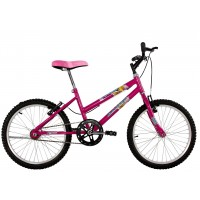Bicicleta Aro 20 Dalannio Bike Milla Rosa Pink