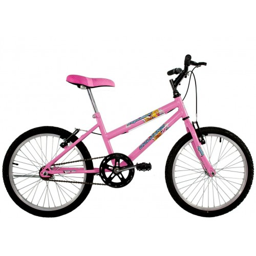 Bicicleta Aro 20 Dalannio Bike Milla Rosa