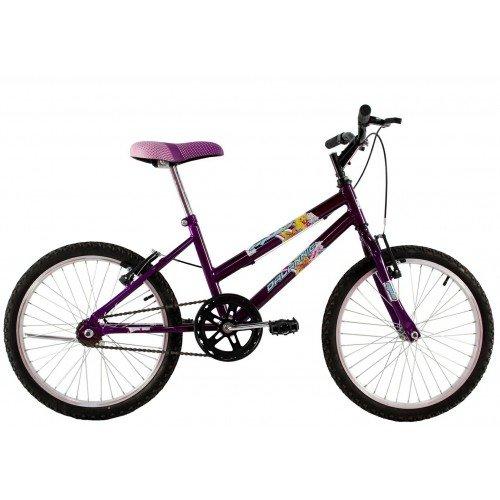Bicicleta Aro 20 Dalannio Bike Milla Violeta