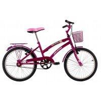Bicicleta Aro 20 Dalannio Bike Susi Feminina Rosa Pink