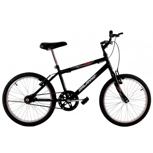 Bicicleta Aro 20 Dalannio Bike Boy Masculina Preta