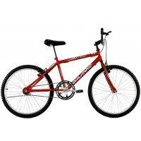 Bicicleta Aro 24 Masculina Dalannio Bike Sport Sem Marcha Vermelha
