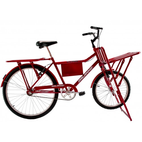 Bicicleta Aro 26 Dalannio Bike Carga Vermelha