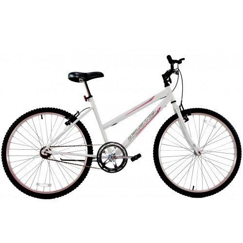 Bicicleta Aro 24 Feminina Dalannio Bike Dalia Sem Marcha Branca