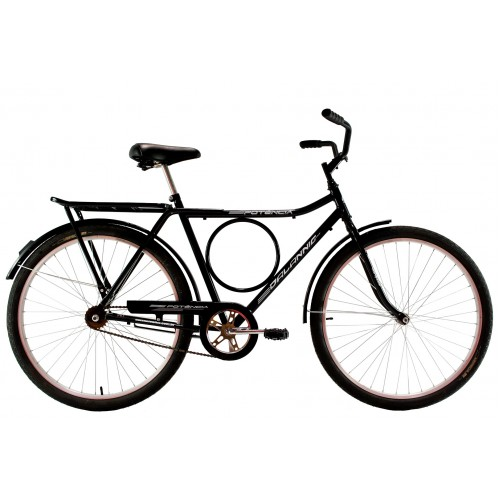 Bicicleta Aro 26 Masculina Dalannio Bike Potencia Freio no Pé Preta
