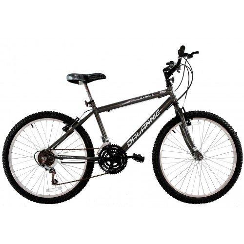 Bicicleta Aro 26 Masculina Dalannio Bike Stroll 18 Marchas Grafite