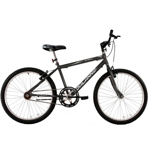 Bicicleta Aro 26 Masculina Dalannio Bike Stroll Sem Marcha Grafite
