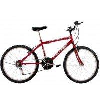 Bicicleta Aro 26 Masculina Dalannio Bike Sport 18 Marchas Vermelha