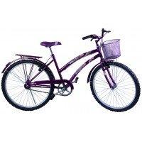 Bicicleta Aro 24 Dalannio Bike Susi Roxa