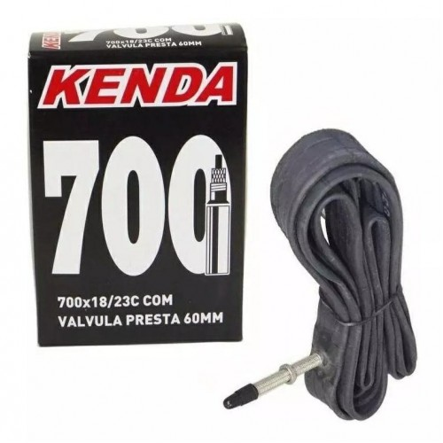 Camara De Ar Speed Kenda 700 x 18-20-23 Bico Longo 60mm