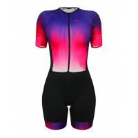 Macaquinho Ciclismo Feminino SportXtreme Comfort Sense Rosa